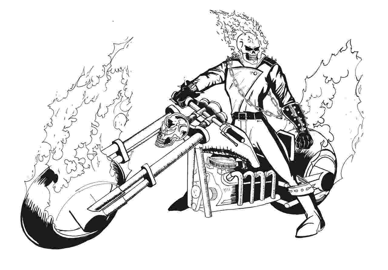 ghost rider coloring pages printable ghost coloring pages for kids cool2bkids ghost rider coloring pages