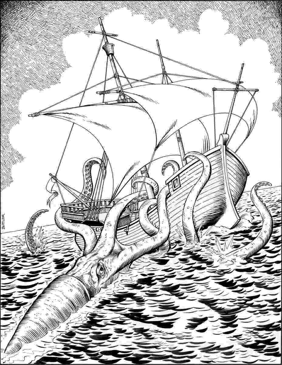 giant squid coloring pages robin39s great coloring pages sperm whale vs giant squid pages squid coloring giant