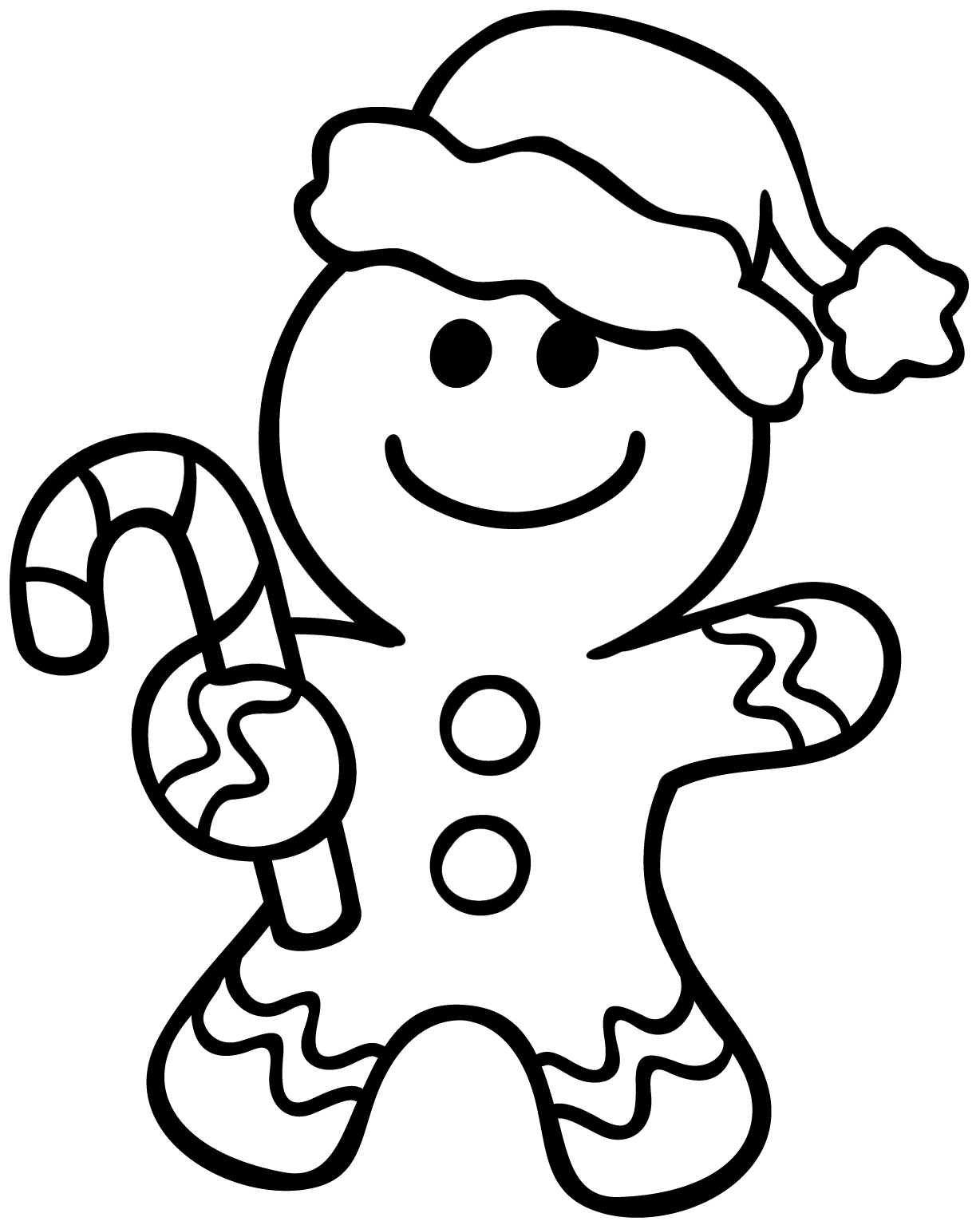 gingerbread color christmas gingerbread man coloring page free printable gingerbread color