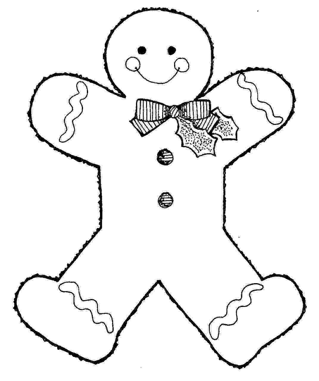 gingerbread color free printable gingerbread man coloring pages for kids color gingerbread 1 3