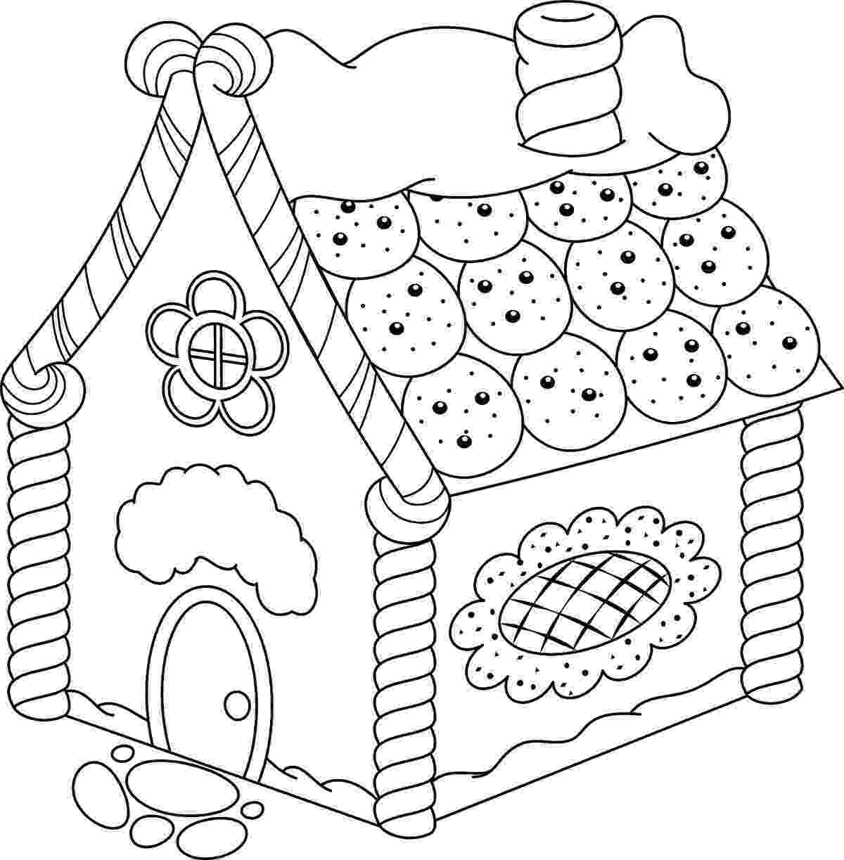 gingerbread color gingerbread house coloring pages printable free coloring gingerbread color