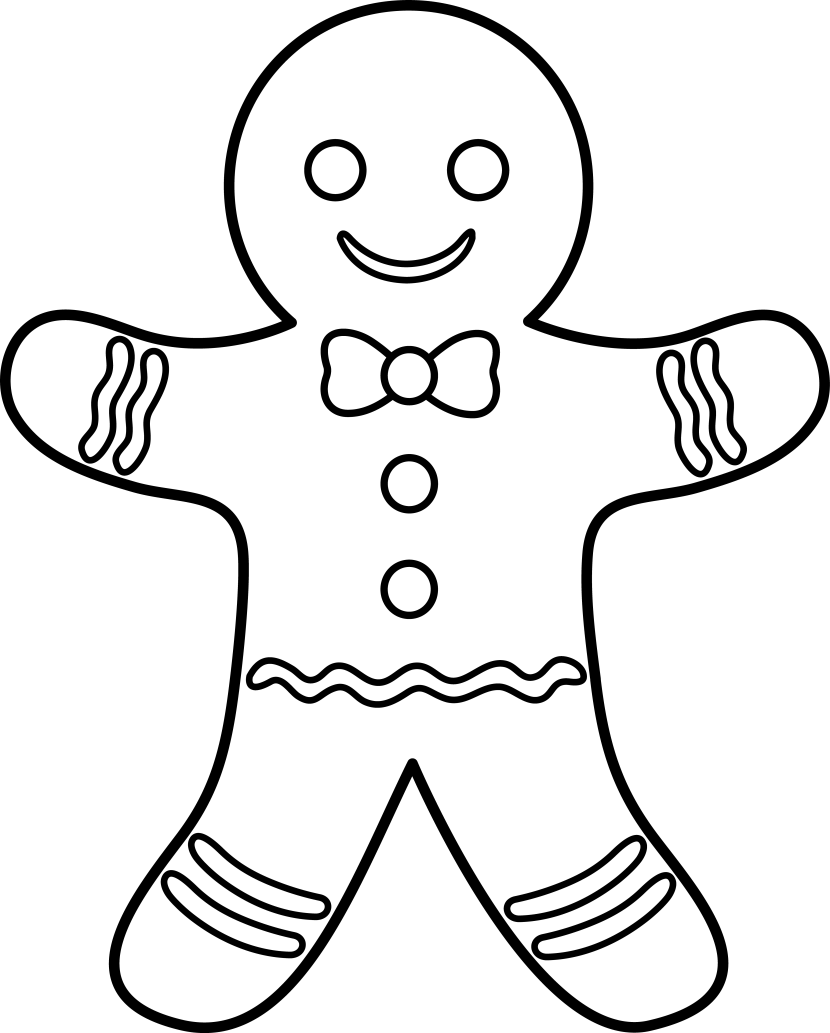 gingerbread color gingerbread man clipart clipartioncom color gingerbread