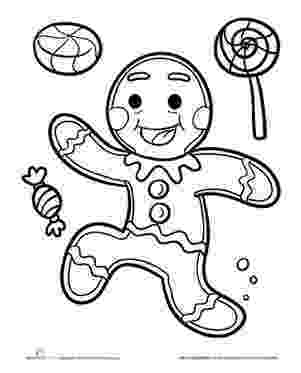 gingerbread color gingerbread man coloring pages to download and print for free color gingerbread 1 1
