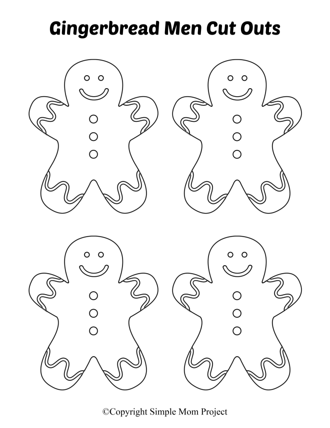 gingerbread girl template printable 8 free printable large and small gingerbread man templates girl gingerbread template printable