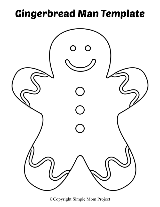 gingerbread girl template printable 8 free printable large and small gingerbread man templates printable gingerbread template girl