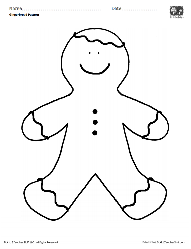 gingerbread girl template printable free printable gingerbread man coloring pages for kids girl gingerbread template printable