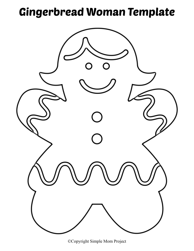 gingerbread girl template printable free printable gingerbread man coloring pages for kids printable template girl gingerbread