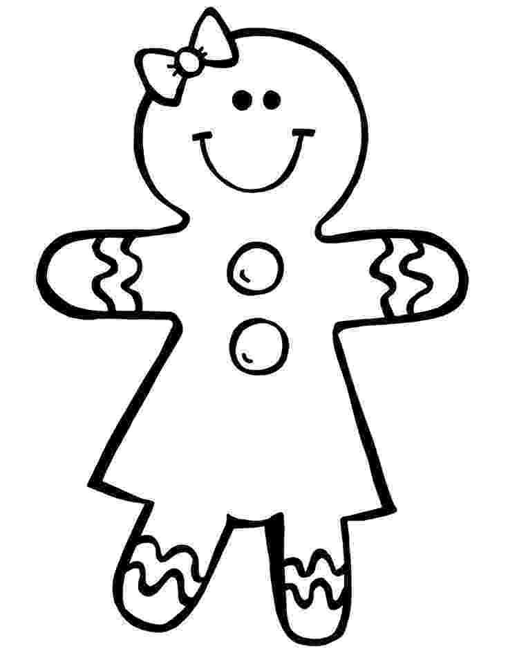 gingerbread girl template printable gingerbread girl template large girl template printable gingerbread
