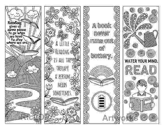 girl bookmarks to print bookmarks for your lending library classroomdoodles girl to bookmarks print