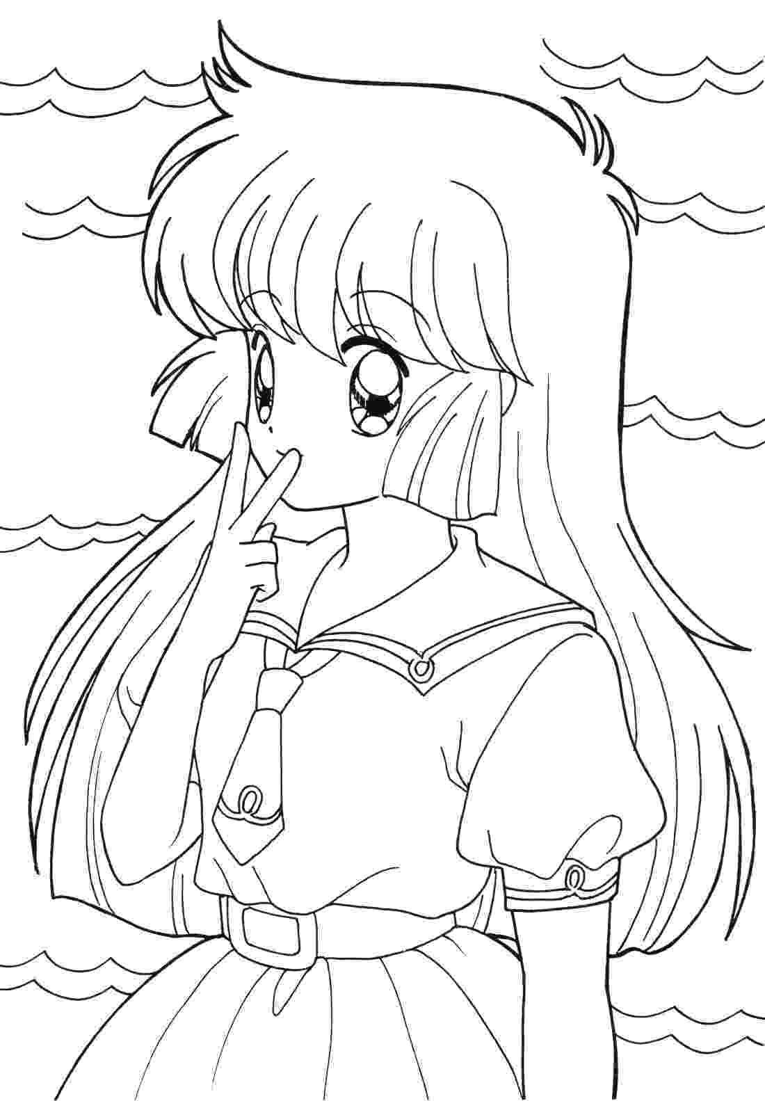 girl pictures to color and print cute girl coloring pages to download and print for free color and girl pictures to print