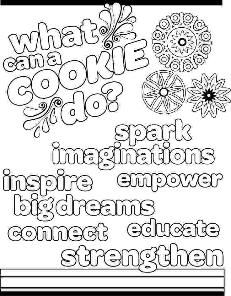 girl scout cookies coloring pages 116 best images about girl scouts on pinterest cute coloring pages scout girl cookies