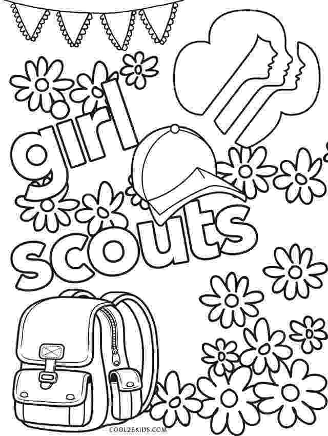 girl scout cookies coloring pages brownie girl scouts selling cookies coloring page free coloring girl pages scout cookies