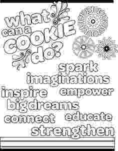 girl scout cookies coloring pages girl scout cookie coloring pages collection wealth girl pages girl cookies scout coloring