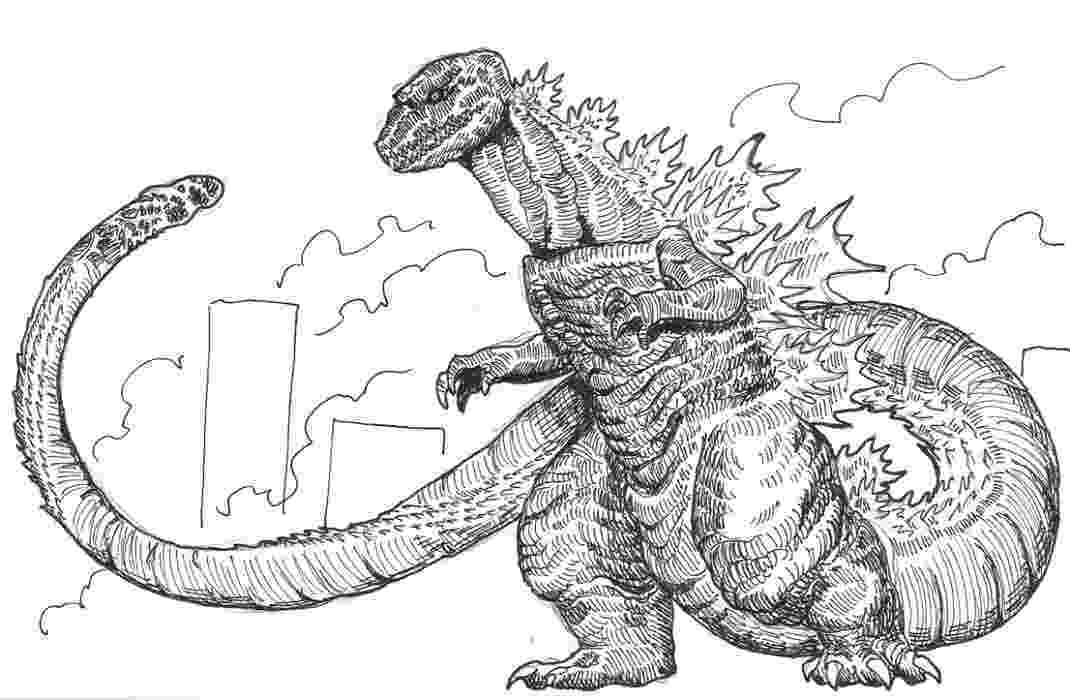 godzilla pictures to color activity shelter godzilla to pictures color