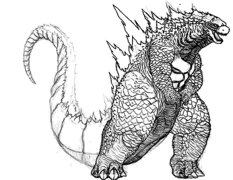 godzilla pictures to color get this printable image of godzilla coloring pages upiui pictures godzilla to color