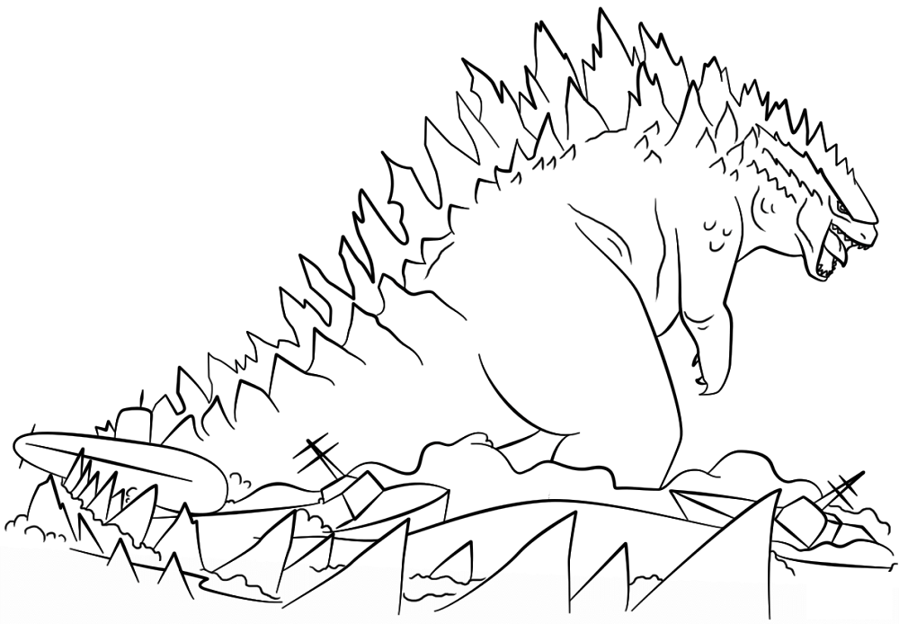 godzilla pictures to color godzilla coloring pages to download and print for free pictures godzilla to color