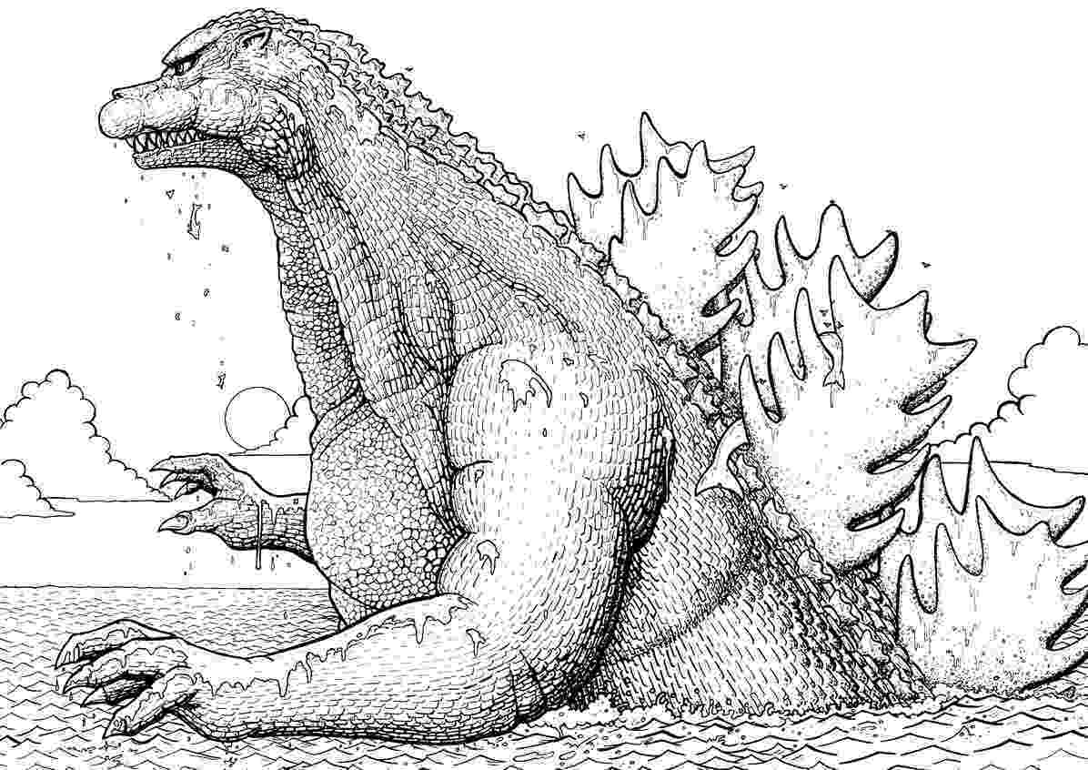godzilla pictures to color godzilla coloring pages to download and print for free to pictures color godzilla