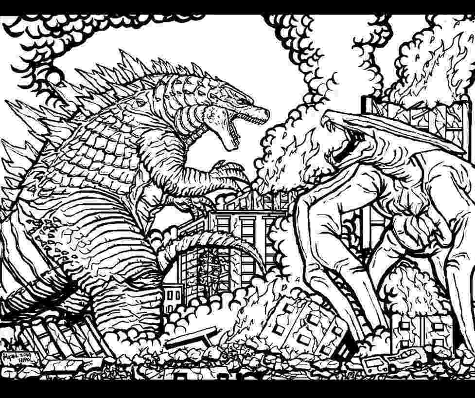 godzilla pictures to color godzilla coloring pages to print at getdrawingscom free to color godzilla pictures