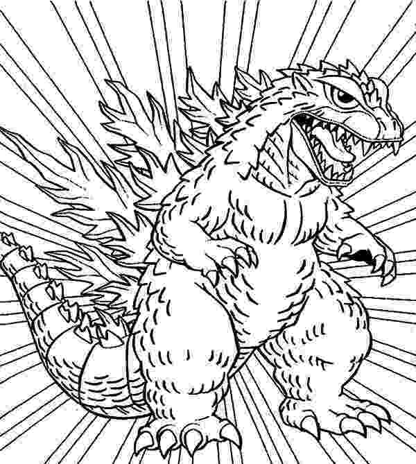 godzilla pictures to color godzilla godzilla coloring pages for kids lineart godzilla color to pictures