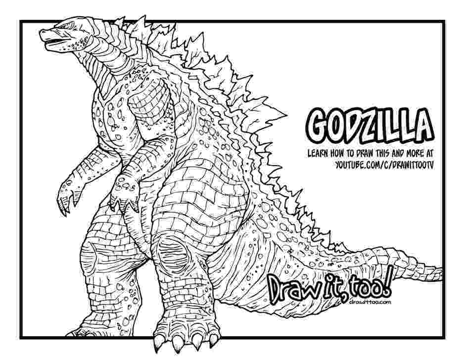 godzilla pictures to color how to draw godzilla godzilla 2014 movie drawing pictures to godzilla color