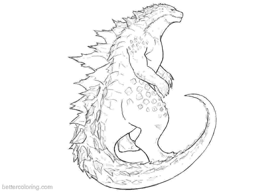 godzilla pictures to color king kong free coloring pages pictures godzilla to color