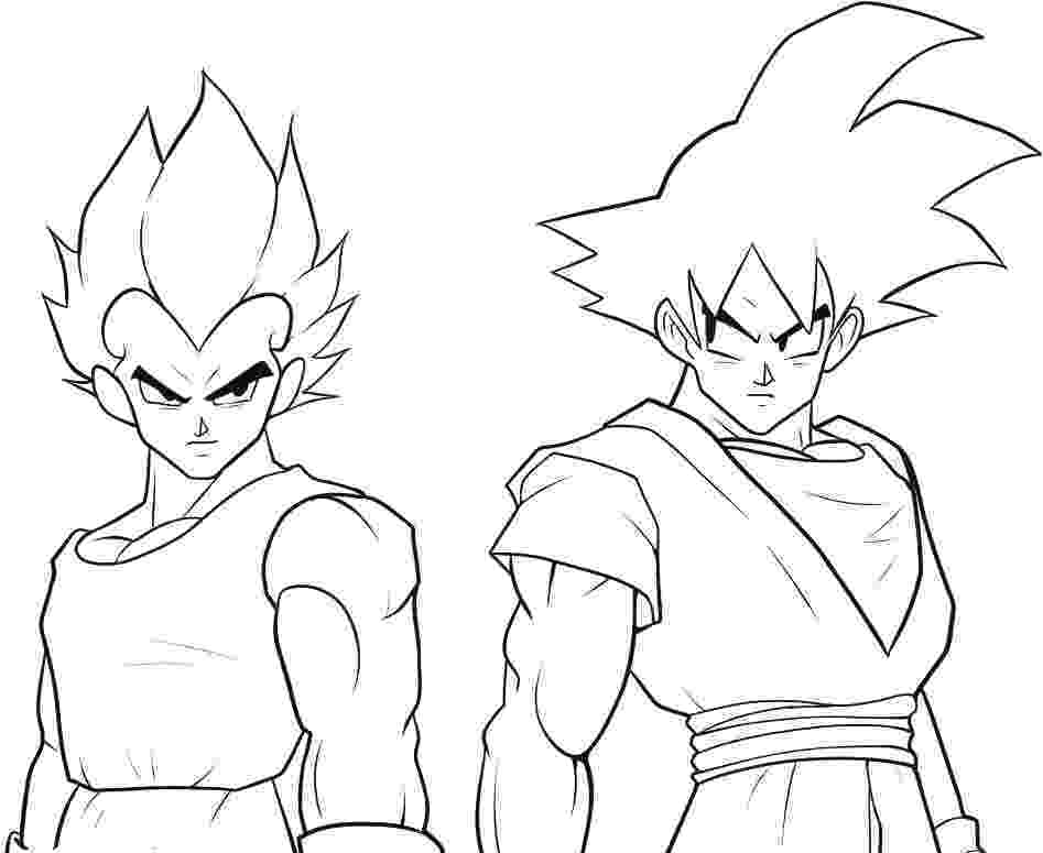 goku coloring page goku coloring pages to download and print for free coloring goku page