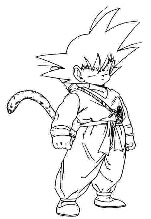 goku coloring page goku coloring pages to download and print for free coloring page goku