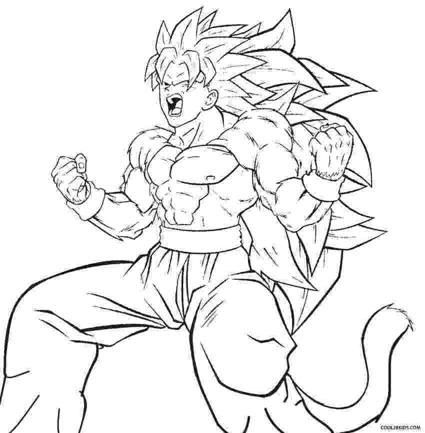 goku coloring page goku coloring pages to download and print for free page goku coloring