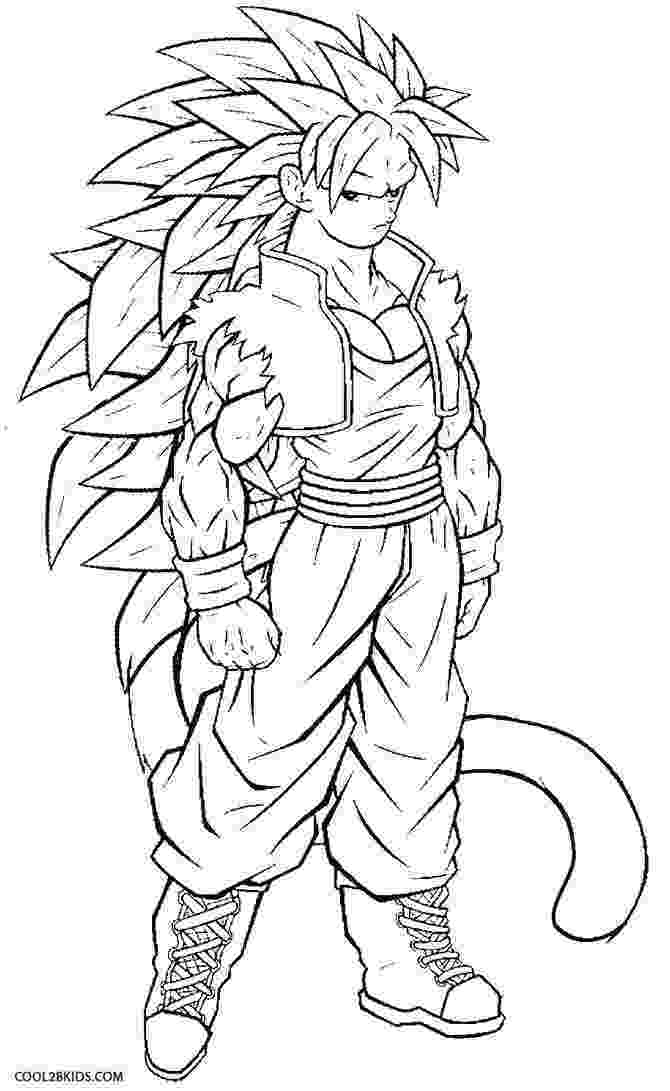 goku coloring page goku coloring pages to download and print for free page goku coloring 1 1