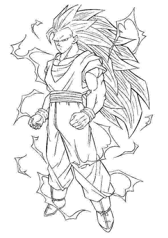 goku super saiyan 3 coloring pages goku super saiyan 3 coloring pages at getcoloringscom 3 coloring super goku pages saiyan