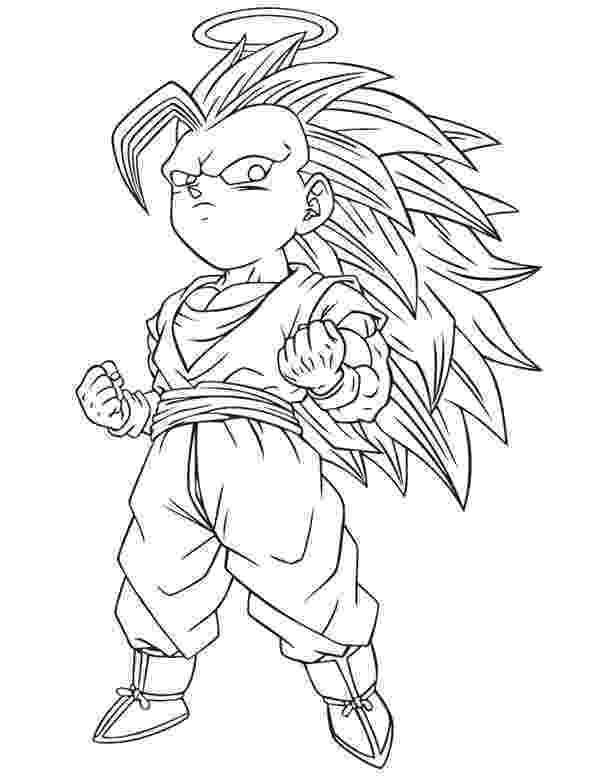 goku super saiyan 3 coloring pages goku super saiyan 4 drawing at getdrawingscom free for saiyan goku super coloring 3 pages