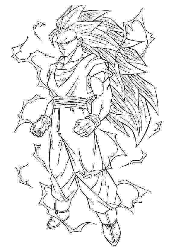 goku super saiyan coloring pages dragon ball full power goku super saiyan 3 coloring pages coloring pages saiyan super goku