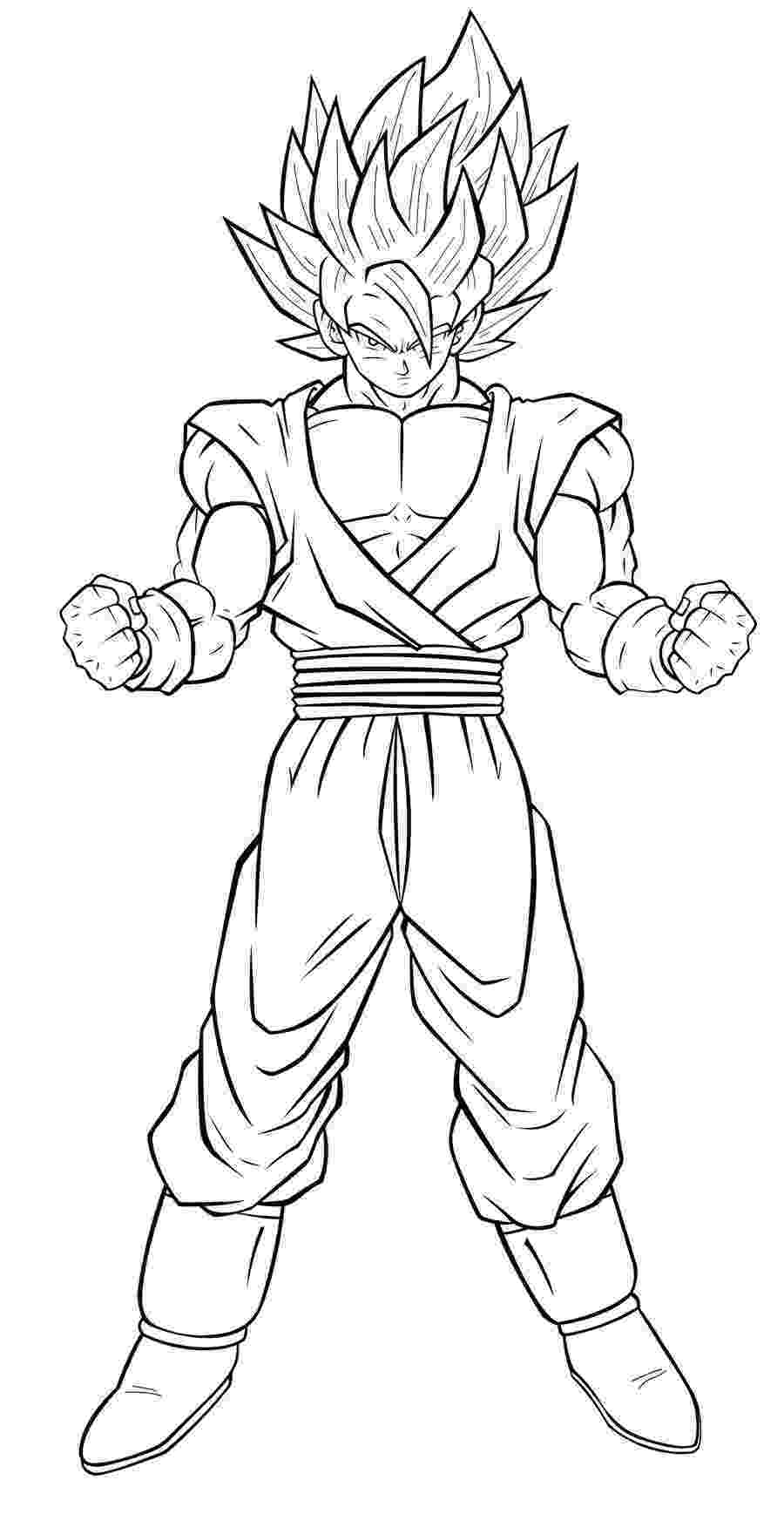goku super saiyan coloring pages goku super saiyan 4 coloring pages images isaiah saiyan pages coloring goku super