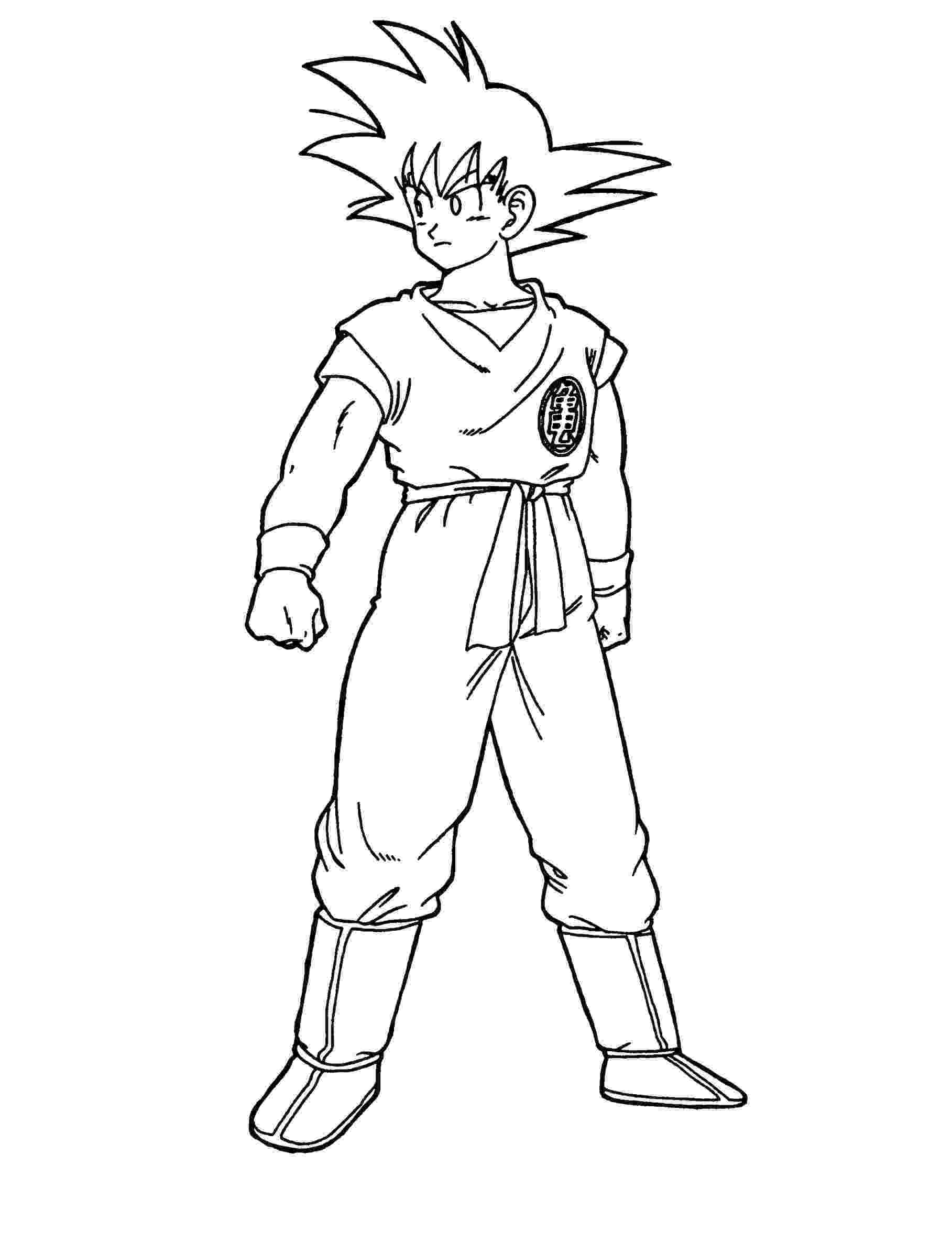 goku super saiyan coloring pages goku super saiyan coloring pages at getcoloringscom coloring saiyan goku super pages