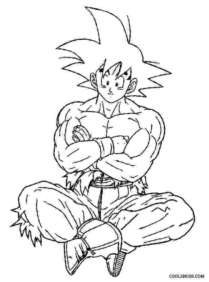 goku super saiyan coloring pages printable goku coloring pages for kids cool2bkids goku super saiyan pages coloring