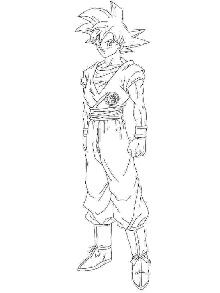 goku super saiyan coloring pages super saiyan goku coloring pages super saiyan goku coloring saiyan super pages goku