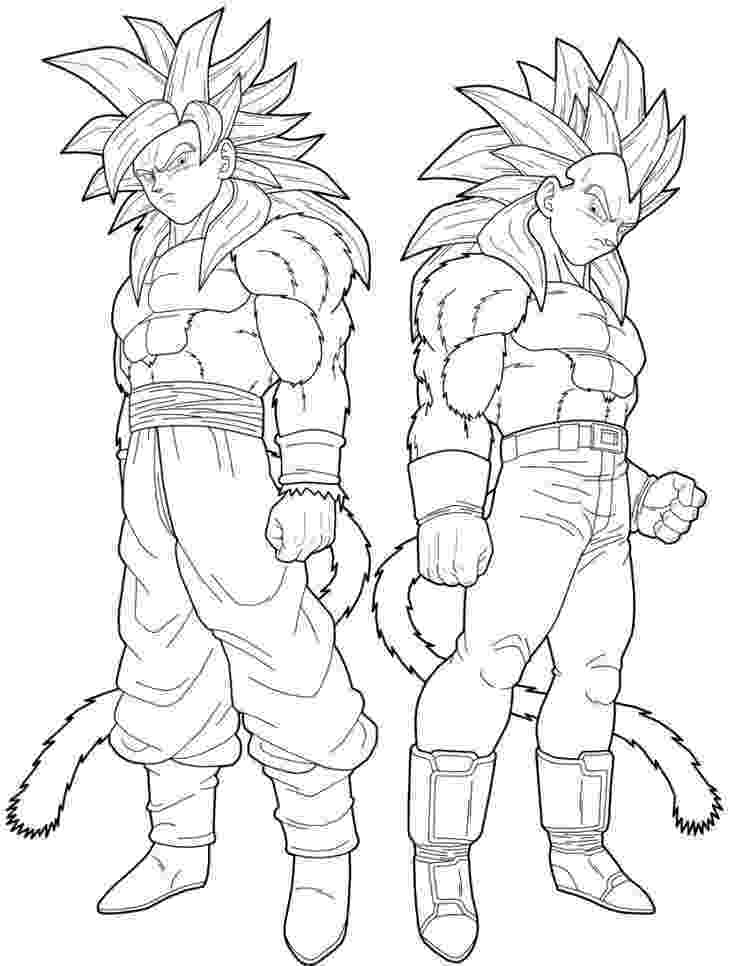 goku super saiyan coloring pages vegeta and goku super saiyan 4 coloring pages dragon super saiyan coloring goku pages