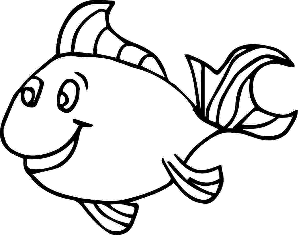 goldfish coloring page fish drawing for colouring at getdrawings free download coloring page goldfish