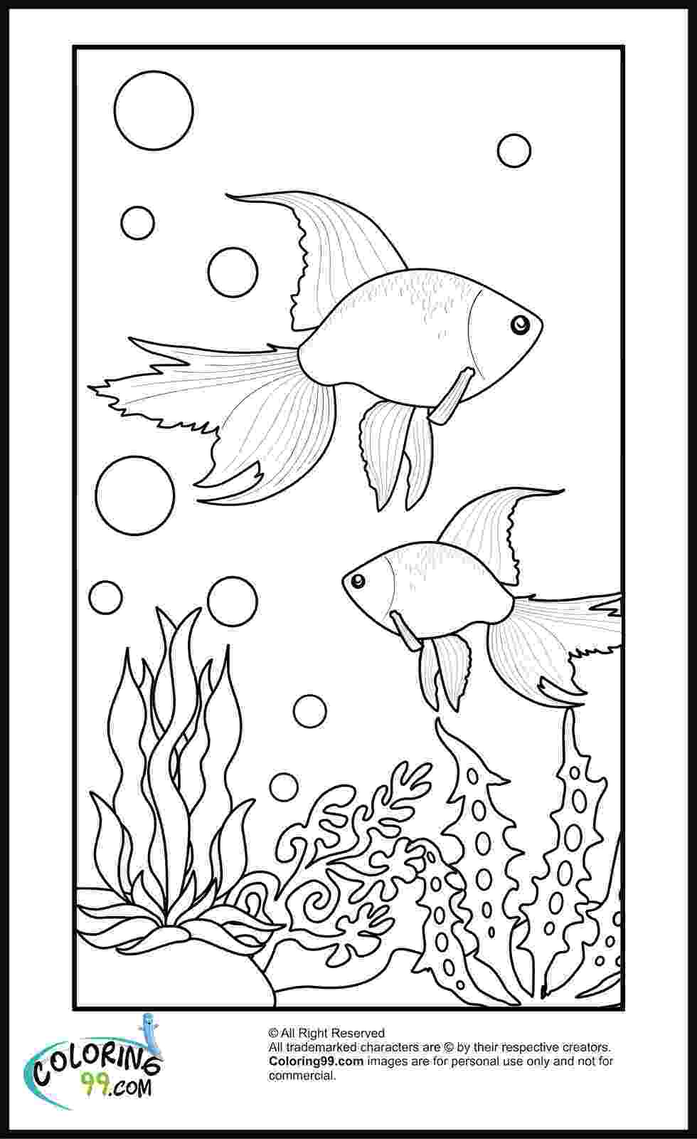 goldfish coloring page goldfish coloring pages download and print goldfish goldfish coloring page