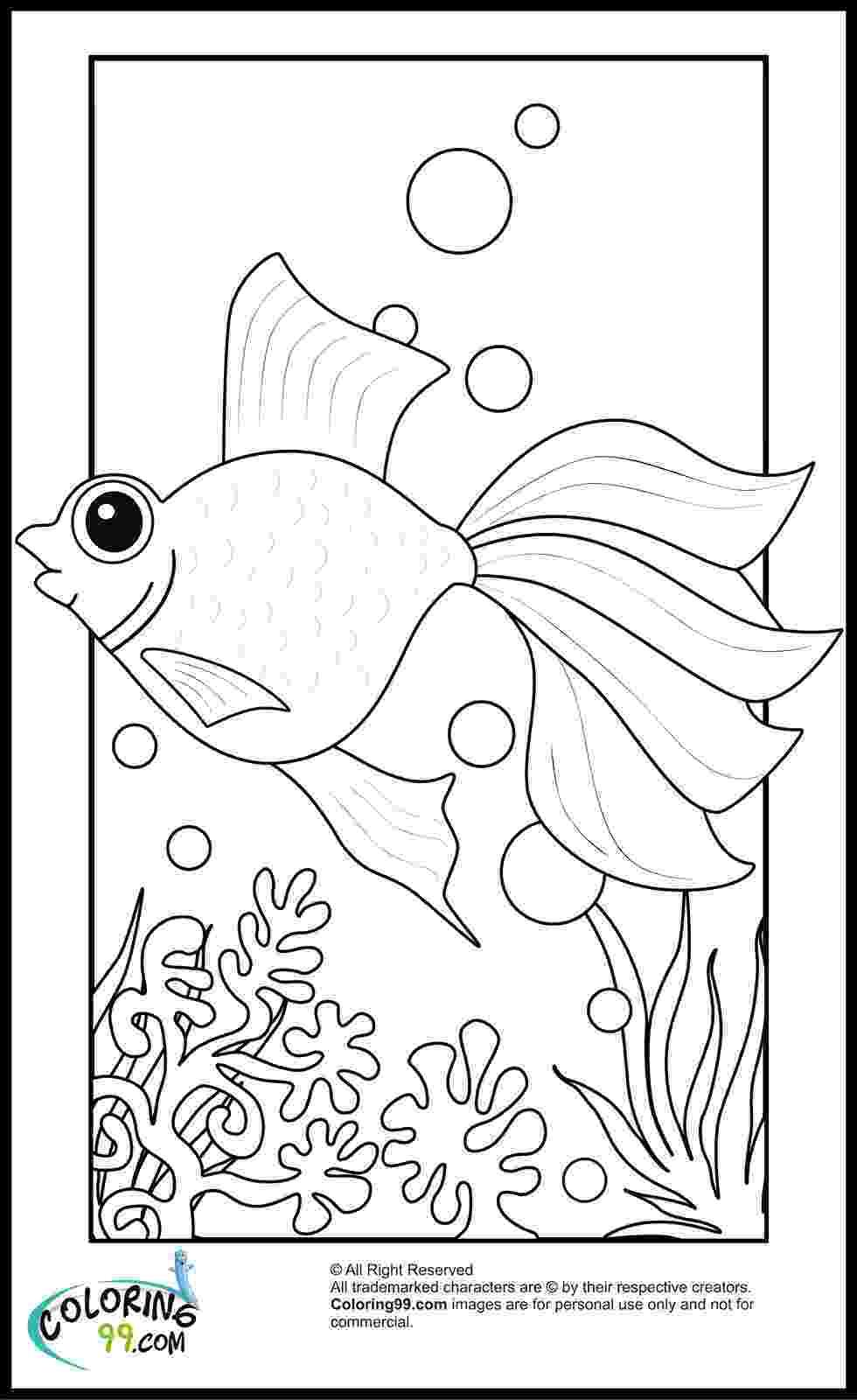 goldfish coloring page goldfish coloring pages getcoloringpagescom coloring page goldfish