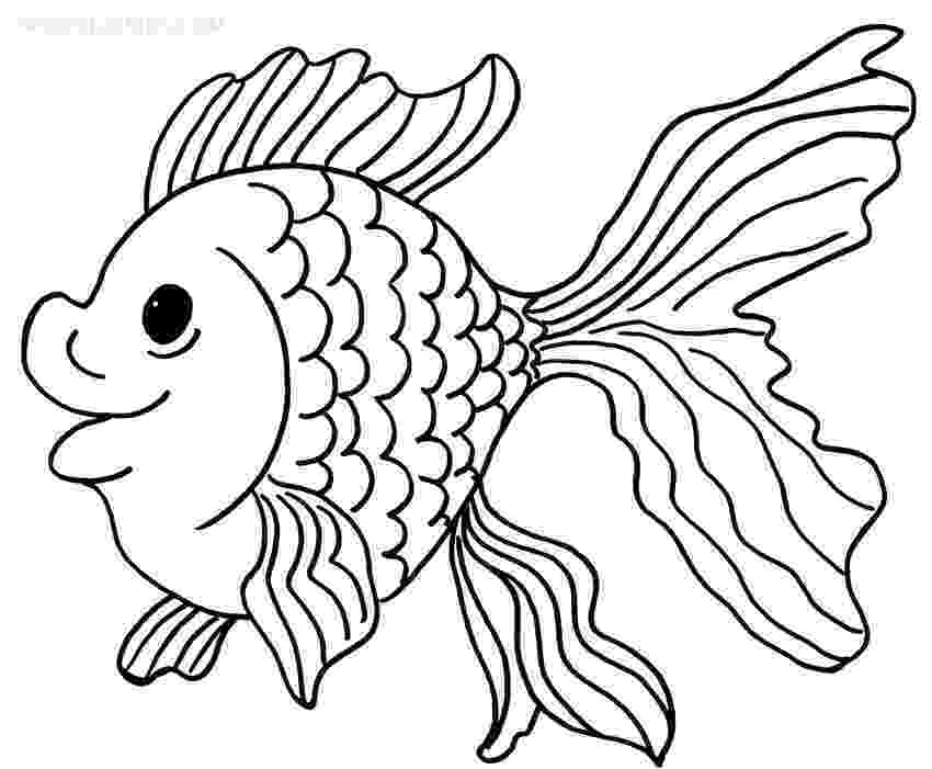 goldfish coloring page goldfish coloring pages team colors page coloring goldfish