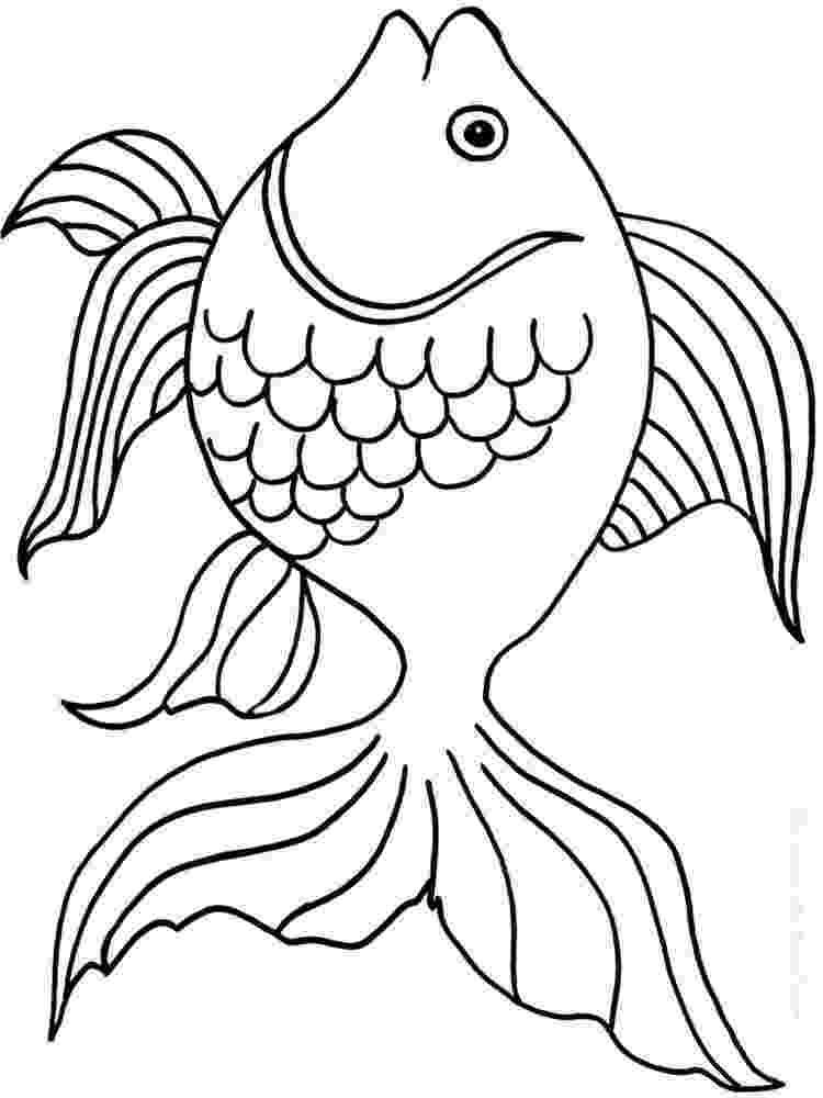 goldfish coloring page preschool alphabet goldfish coloring page goldfish