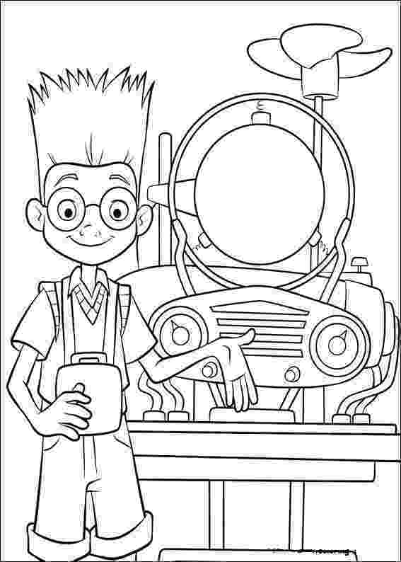 goob meet the robinsons meet the robinsons lewis goob and wilbur coloring page meet the robinsons goob