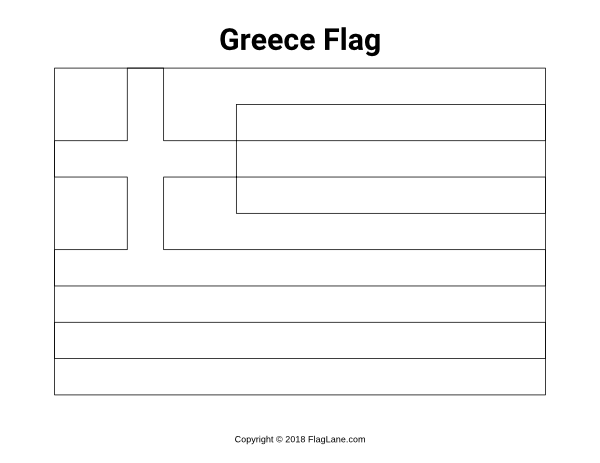 greek flag to colour colouring book of flags southern europe to greek colour flag