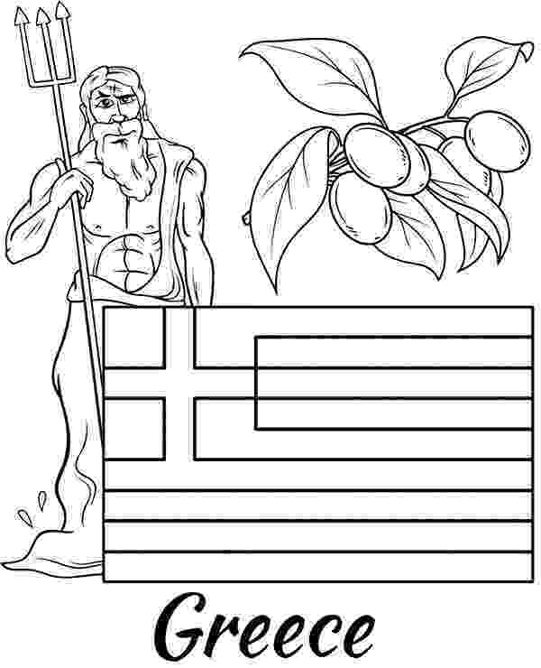 greek flag to colour greek flag coloring page topcoloringpagesnet colour flag greek to