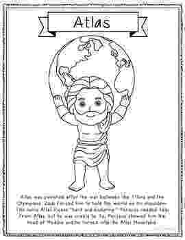 greek god coloring pages atlas greek mythology informational text coloring page coloring god greek pages