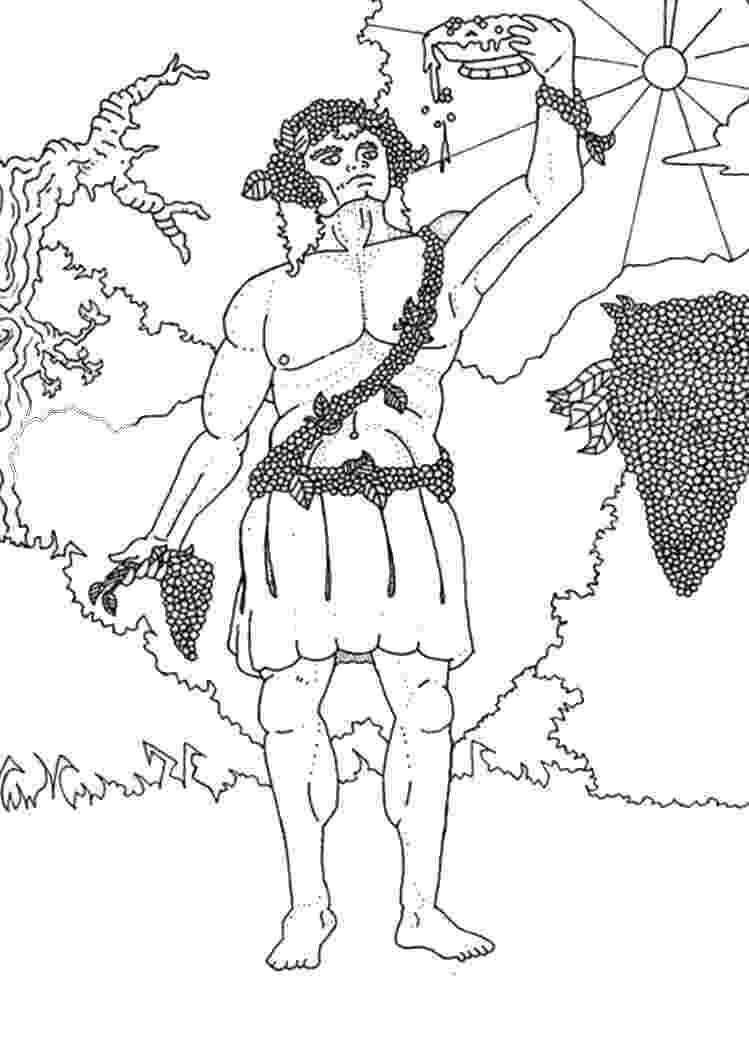 greek god coloring pages god dionysus coloring pages hellokidscom pages god coloring greek