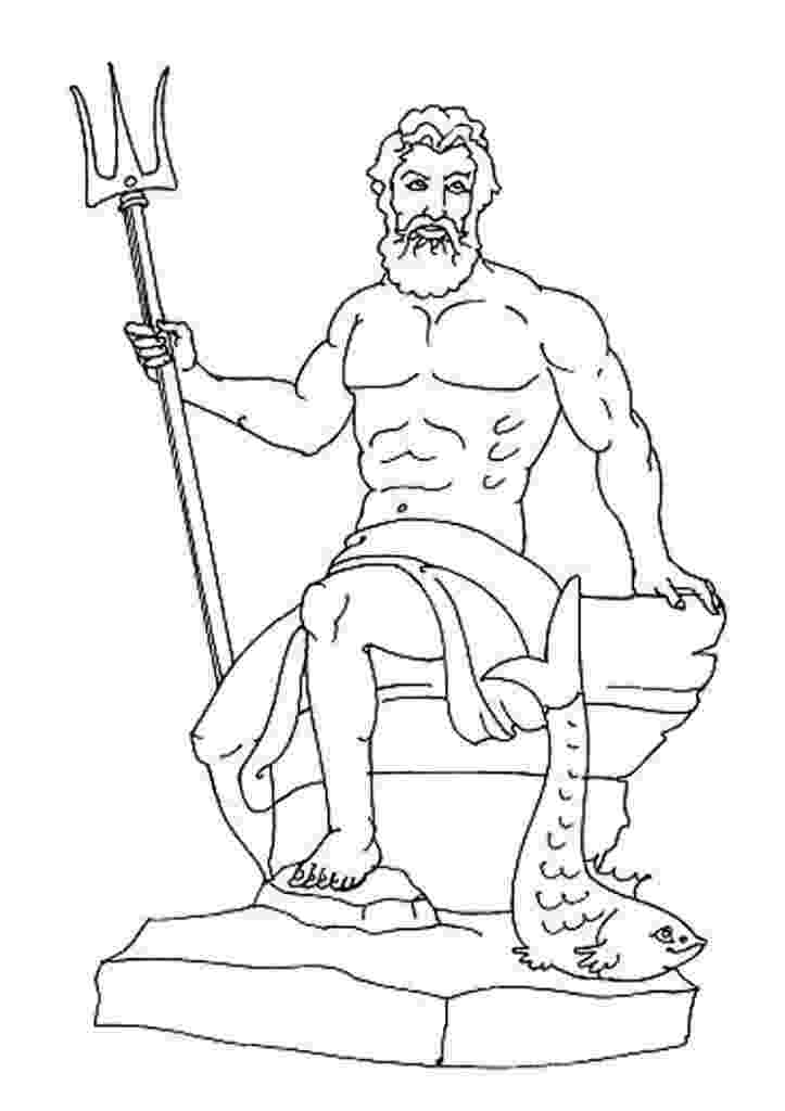 greek god coloring pages greek god coloring pages coloring home coloring greek pages god