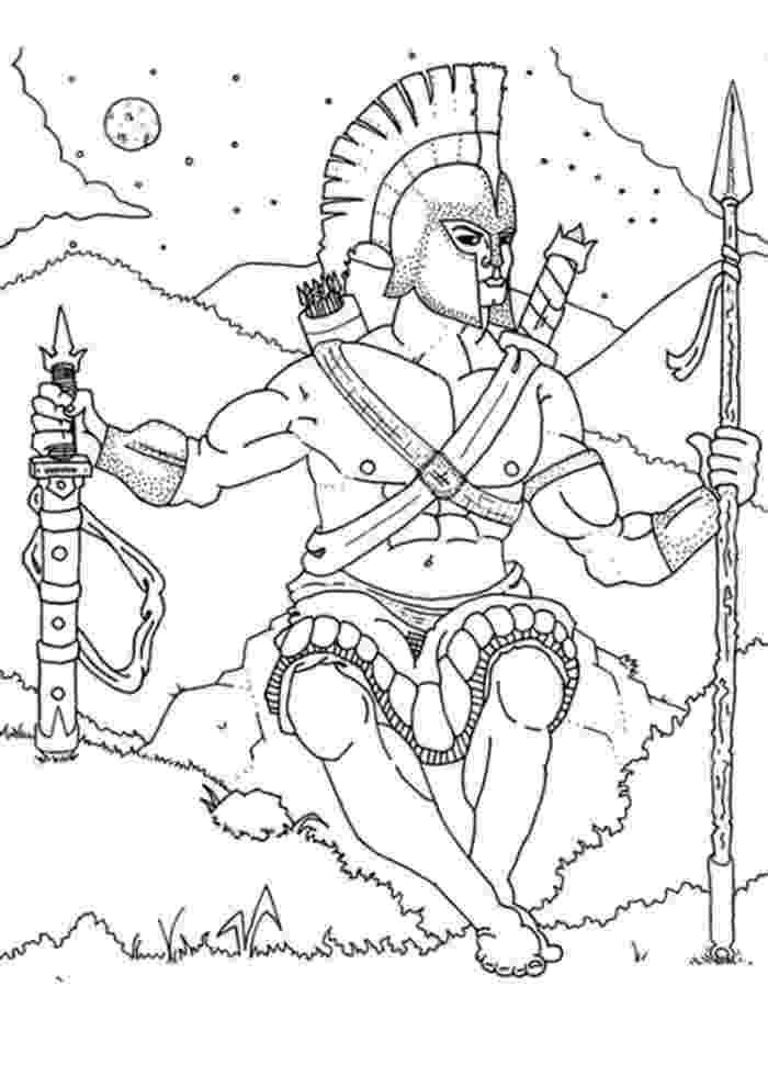 greek god coloring pages greek gods coloring pages coloring home greek pages coloring god