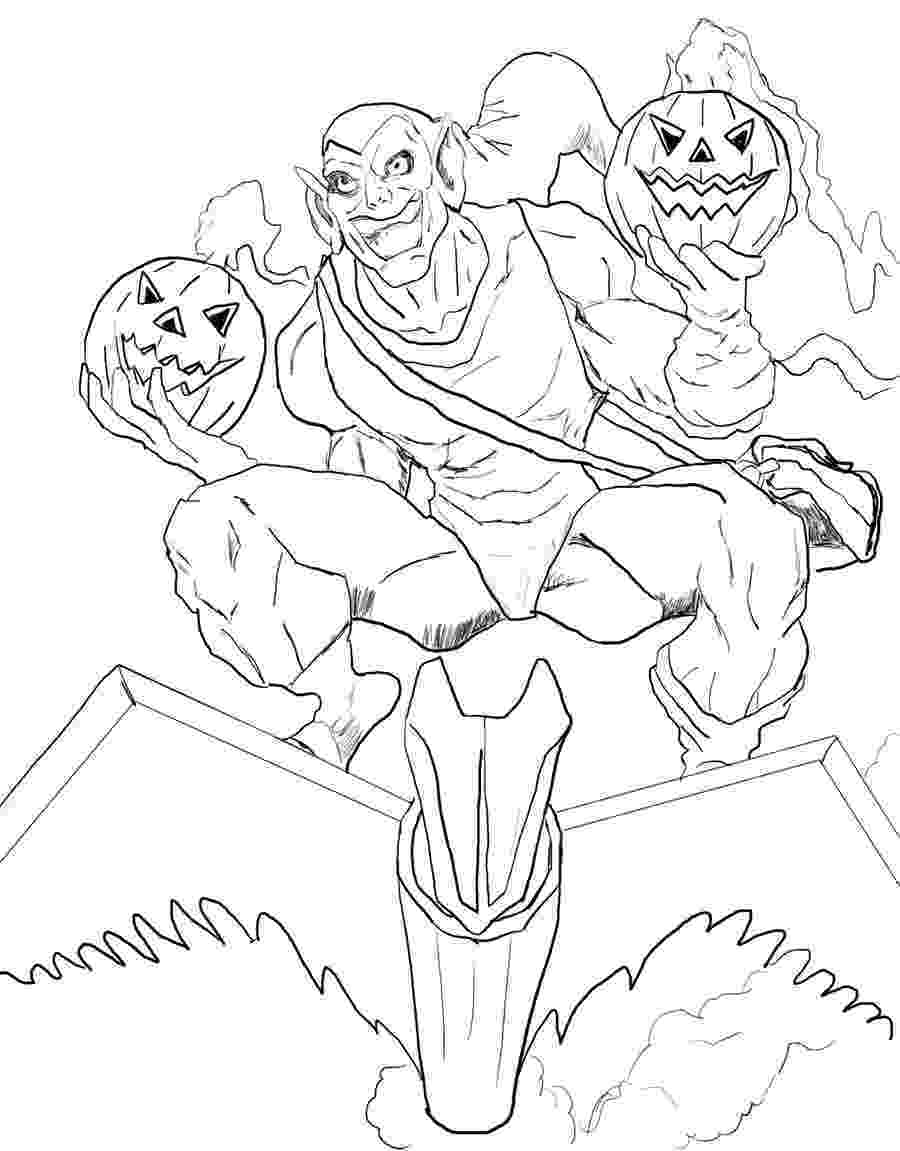 green goblin colouring pages green goblin coloring pages free coloring home goblin pages colouring green